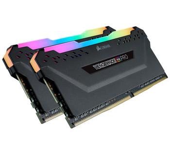 CORSAIR Vengeance RGB PRO 64GB (2x 32GB) DDR4 3200MHz C16 Desktop Gaming Memory