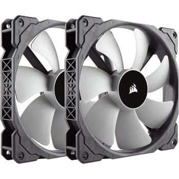 CORSAIR ML140 140mm Premium Magnetic Levitation Fan — Twin Pack