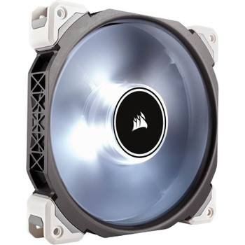 CORSAIR ML140 Pro LED, White, 140mm Premium Magnetic Levitation Fan