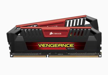 CORSAIR Vengeance Pro 16GB (2x8GB) DDR3 1600MHz C9 Desktop Gaming Memory Red
