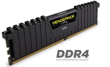 CORSAIR Vengeance LPX 8GB (1x8GB) DDR4 2666MHz C16 Desktop Gaming Memory Black