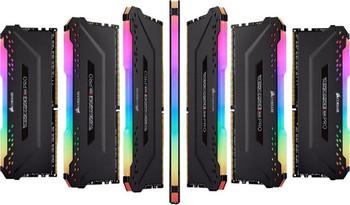 CORSAIR Vengeance RGB PRO 16GB (2x8GB) DDR4 2666MHz C16 Desktop Gaming Memory