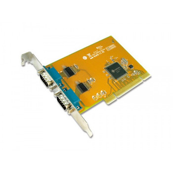 SUNIX COMCARD-2P SER5037A Dual Port Serial IO Card PCI Card; speeds up to 115.2Kbps; Support Microsoft Windows, Linux, and DOS(LS)