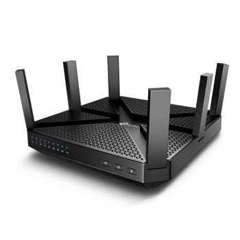 TP-LINK Archer C4000 AC4000 4000Mbps Wireless Tri-Band MU-MIMO Gigabit Router 1625Mbps@5GHz 750Mbps@24GHz 1xGbE WAN 4xGbE LAN 2xUSB 6xAntennas