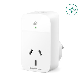 TP-LINK KP105 Kasa Smart Wi-Fi Plug Slim, Smart Plug, Remote Control, Timer, Voice Control, Compatible with Alexa, Fireproof and Overhead Protection