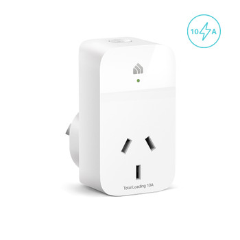 TP-LINK KP115 Kasa Smart WiFi Plug Slim with Energy Monitoring, Remote Control, Timer, Voice Control, Compatible with Alexa, Fireproof Smart Plug