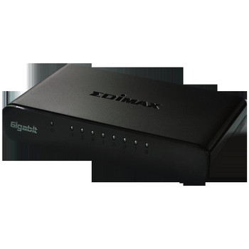 EDIMAX ES-5800G V3 8-Port 10/100/1000 Mbps Gigabit Switch Ideal For SOHO Environment Supports MDI/MDI-X Cross Over Detection and Auto Correction