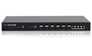 UBIQUITI Managed Fiber Aggregation Switch,12x SFP 1Gbps Ports, 4x 1Gbps Ethernet Ports - 16Gbps Switching Capacity