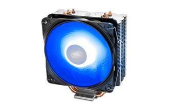 DEEPCOOL GAMMAXX 400 V2 Blue CPU Cooler 4 Heatpipes, 120mm PWM LED Fan, Intel LGA1200/1151/1150/1155/1366 AMD AM4/AM3+/AM3/AM2+/AM2/FM2+/FM2/FM1