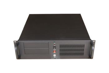 TGC Rack mountable Server Chassis 3U 450mm Depth, 2x Ext 5.25' Bays, 7x 3.5' Int Bays. 5x Full Height PCIE Slots, ATX PSU/MB