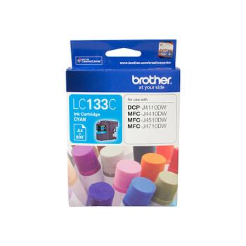BROTHER LC133 Cyan Ink Cartridge