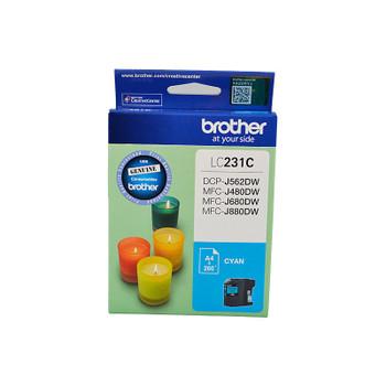 BROTHER LC231 Cyan Ink Cartridge
