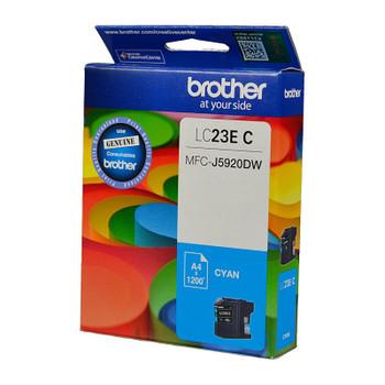 BROTHER LC23E Cyan Ink Cartridge