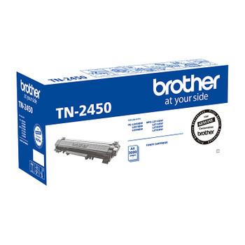 Brother TN-2450 Mono Laser Toner- Standard, HL-L2350DW/L2375DW/2395DW/MFC-L2710DW/2713DW/2730DW/2750DW up to 3,000 pages
