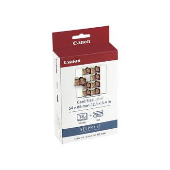 CANON KC18IL Ink & Label Pk