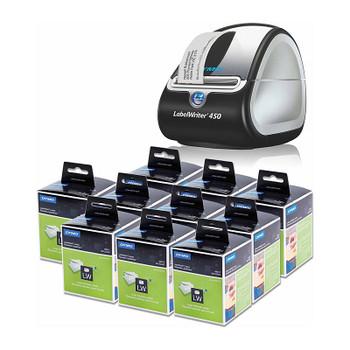 DYMO LabelWriter 450 Bundle