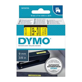 DYMO Black on Yellow 9mm x7m Tape