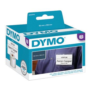 DYMO LW NameBadge 62mm x 106mm