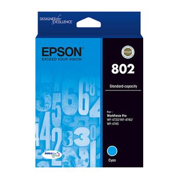 EPSON 802 Cyan Ink Cartridge