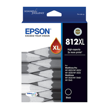 EPSON 812XL Black Ink Cartridge