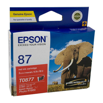 EPSON T0877 Red Ink Cartridge