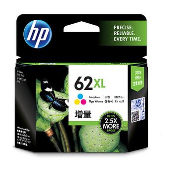 HP #62XL Tri Colour Ink C2P07AA
