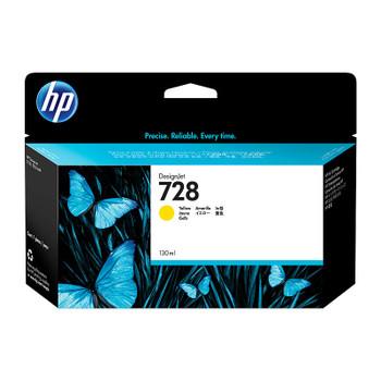 HP #728 130ml Yellow Ink F9J65A