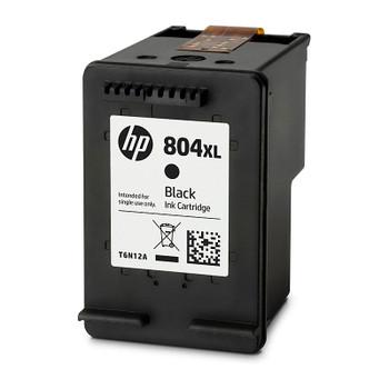 HP #804XL Black Ink T6N12AA