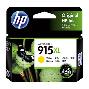 HP #915XL Yellow Ink 3YM21AA