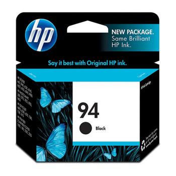 HP #94 Black Ink Cartridge C8765WA