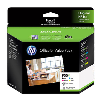 HP #955XL Ink Value Pack