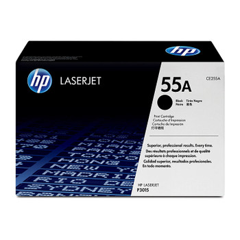 HP #55A Black Toner CE255A