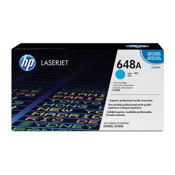 HP #648A Cyan Toner CE261A