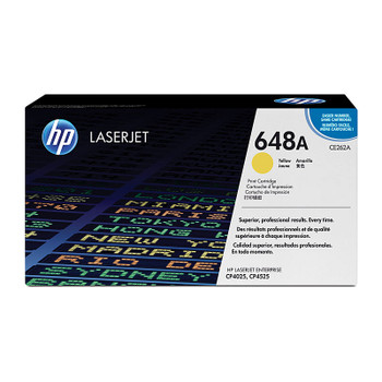 HP #648A Yellow Toner CE262A