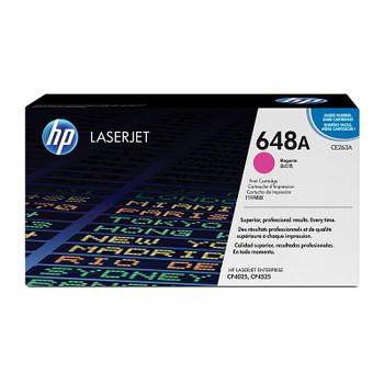 HP #648A Magenta Toner CE263A
