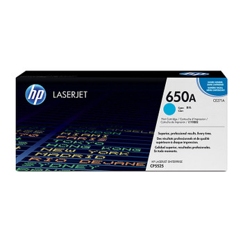 HP #650A Cyan Toner CE271A