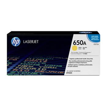 HP #650A Yellow Toner CE272A