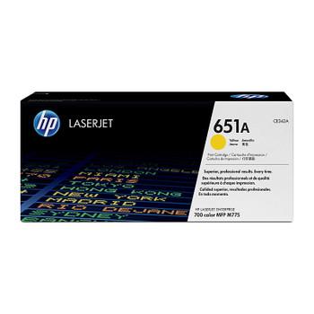 HP #651A Yellow Toner CE342A
