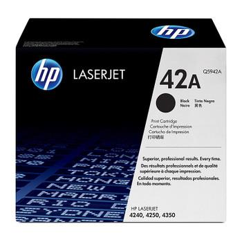 HP #42A Black Toner Q5942A