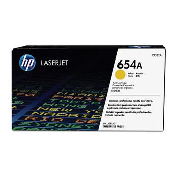 HP #654A Yellow Toner CF332A