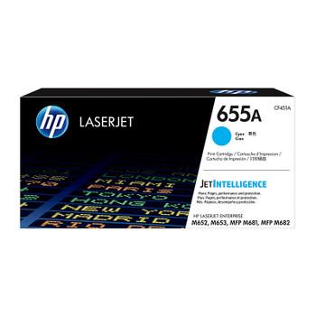 HP #655A Cyan Toner CF451A