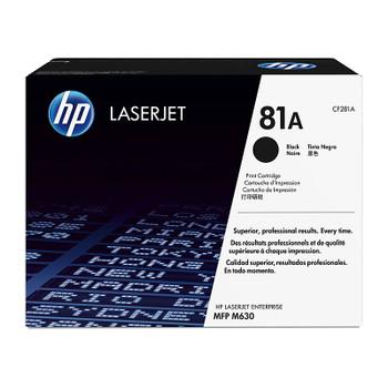 HP #81A Black Toner CF281A