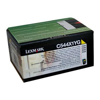 LEXMARK C544X1YG Yellow Toner
