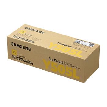 SAMSUNG CLTY505L Yellow Toner