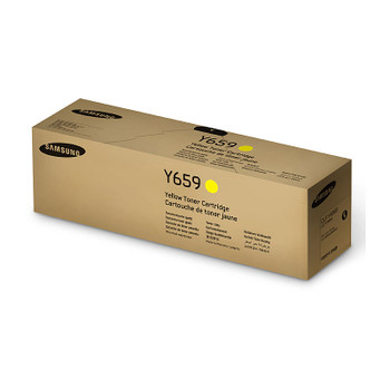 SAMSUNG CLTY659S Yellow Toner