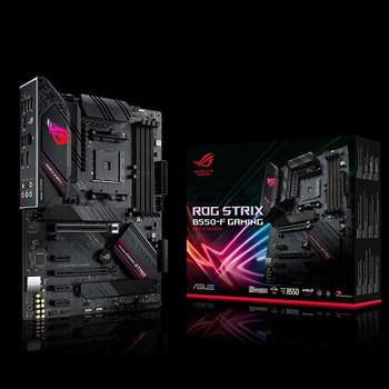 ASUS AMD B550 ROG STRIX B550-F GAMING (Ryzen AM4) ATX MB, Dual M.2, PCIe 4.0, 2.5Gb Ethernet, DP/HDMI2.1, SATA 6Gbps, USB 3.2 Gen 2 Type