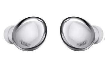 SAMSUNG Galaxy Buds Pro - SILVER - Immersive Sound With Intelligent Active Noise Cancelling,Three Built-In Microphones, IPX7Water Resistant,Charge Up