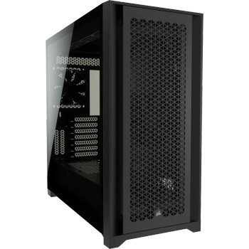 CORSAIR 5000D AIRFLOW E-ATX, ATX, USB Type-C, 2x 120mm Airguide Fans, Radiator 360mm. 7x PCI, 4x 2.5' SSD, 2x 3.5' HDD. VGA 420mm. Black Tower Case