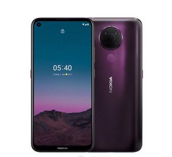 NOKIA 5.4 128GB Purple - Display 6.39'' HD+, Qualcomm® Snapdragon™ 662 CPU, 4GB RAM, 128GB ROM, Dual SIM, 4000 mAh non-removable Battery