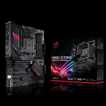 ASUS AMD B550 ROG STRIX B550-F GAMING(WI-FI) (Ryzen AM4) ATX MB, Dual M.2, PCIe 4.0, 2.5Gb Ethernet, WiFi 6, DP/HDMI2.1, SATA 6Gbps, USB 3.2 Gen 2 Typ